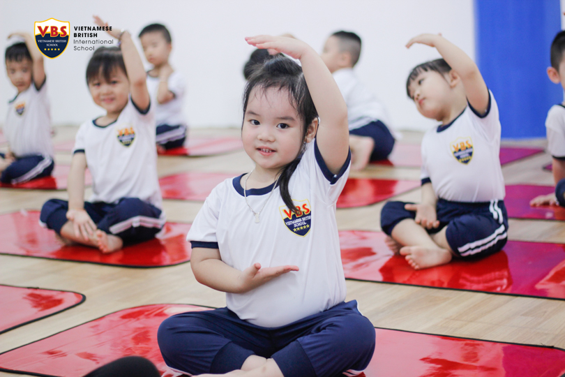yoga for vbs's kids